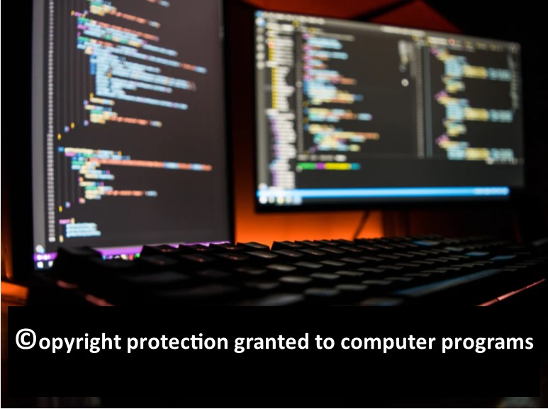Copyright protection granted to computer programs