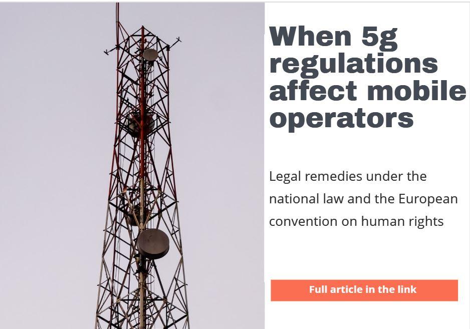 When 5G regulations affect mobile operators